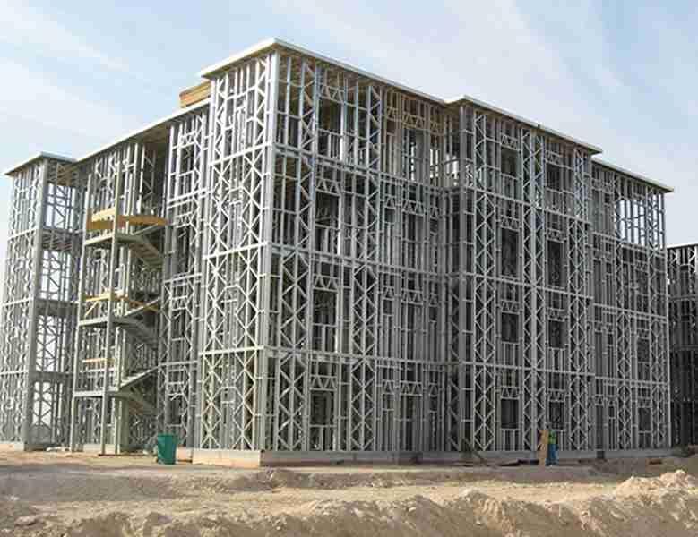 Structure m tallique et ossature en acier l ger maoi - Construction maison ossature metallique ...